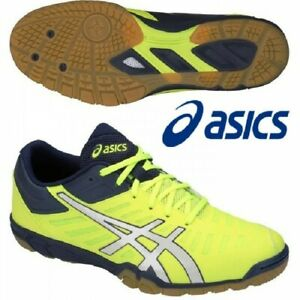 ASICS Table Tennis Shoes EXCOUNTER 2 Flash Yellow White 1073A002 With Tracking