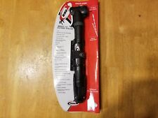 RavX Econo X Dual Valve Mini Pump - Bike Tire Pump w/ Frame Mount