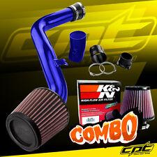 Blue Cold Air Intake + K&N Air Filter For 02-06 Altima 3.5L V6