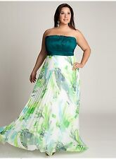 NWT Authentic IGIGI Plus Size Simone Gown in Jade, 12