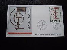 DANEMARK - enveloppe 1er jour 22/9/1988 (cy90) denmark