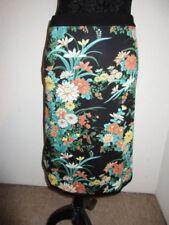 Damenröcke mit Blumen-Normalgröße L