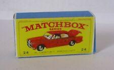 Repro box MATCHBOX 1:75 Nº 24 rolls royce silver shadow