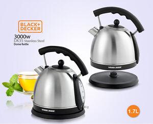 Black And Decker 220 Volt Stainless Steel Kettle DK35 220V 240V For Overseas Use