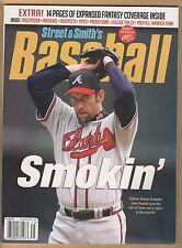 1989 - 1993 John Smoltz 15 card lot & 2007 Street & Smiths cover Atlanta Braves