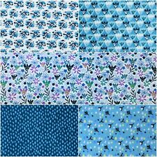 Fabric Freedom 100/% Cotton A QUIET PLACE Craft /& Dress Fabric Material
