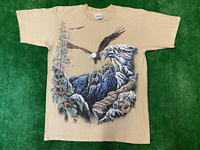 Vintage 1995 Eagles Nature Gardner T-Shirt Stand Out Men's Size M