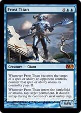 FROST TITAN M11 Magic 2011 MTG Blue Creature — Giant MYTHIC RARE