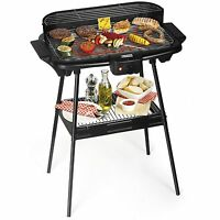 Electric Grill Barbecue Big Size 2000W Low generation of Odors and Fumes Novelty