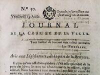 Chevalier de Malte 1791 Duc d'Orléans Barnave Mirabeau Royaliste Lansberg Paris