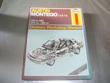 AUSTIN MONTEGO 1.3  AND 1.6  PETROL MODELS HAYNES