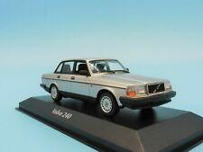 1 43 Minichamps Volvo 240 Saloon 1986 silver