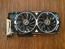 MSI NVIDIA GeForce GTX 1080 Ti Armor OC - 11GB GDDR5X PCI Express 3.0 x16 Video
