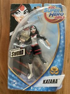 "DC SUPER HERO GIRLS 6"" ACTION FIGURES - KATANA"