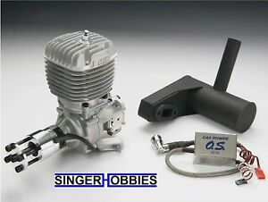 O.S. Engine GT60 60cc Gas Airplane Engine with Muffler OSMG1561 HH