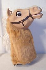 MATTEL MISTER ED THE TALKING HORSE TV SHOW HAND PUPPET 1970s
