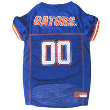 Florida Gators Licensed NCAA Pets First Dog Pet Jersey Blue , Sizes XS-XXL