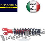 7137 MADE IN ITALY AMMORTIZZATORE POSTERIORE ROSSO NERO VESPA 150 SPRINT VELOCE