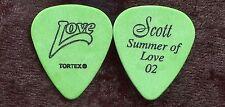 HEART 2002 Summer Love Tour Guitar Pick!!! SCOTT OLSON custom concert stage #2