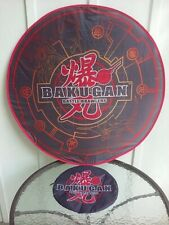 Bakugan Battle Brawlers Bakumat Folding Battle Arena Mat W/ Zippered Travel Case