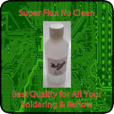Liquid Flux No Clean Soldering Flux 100ml Rework Reball SMD GPU CPU SuperFlux HQ