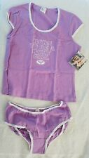 Old School Roxy Quicksilver Size L Panty sleep set - NWT