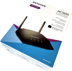 NETGEAR AC1600 Wi-Fi Router Dual Band Gigabit Wireless Speed