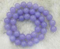 "Purple 6mm Violet Alexandrite Gemstone Round Loose Beads 15"" Strand JL13"