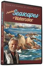 Gerald Fritzler: Painting Seascapes in Watercolor - Art Instruction DVD