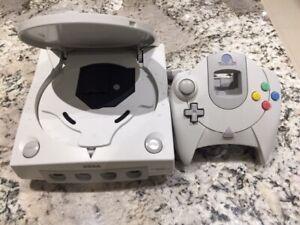 Dreamcast GDemu PicoPsu + Power brick + CMOS Battery + 32GB Sega Console GAMEXTC