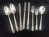 "Wm Rogers ""Imperial"" Sectional International Silver Silver plate  1939, 8 pieces"