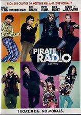 NEW COMEDY  DVD // PIRATE RADIO // BILL NIGHY, PHILLIP SEYMOUR HOFFMAN ,