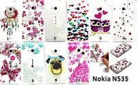Transparent Soft TPU Silicone Gel Back Case Cover For Microsoft Nokia Lumia 535