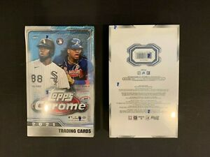 2021 Topps Chrome Lite Hobby Box Brand New Factory Sealed Online Exclusive