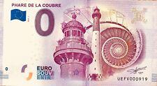 BILLET 0 EURO SOUVENIR TOURISTIQUE PHARE DE LA COUBRE  2018
