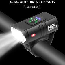 Велосипед светодиодный T6 передняя фара 6 режимов с зарядкой от Usb горный велосипед велосипед Велоспорт передняя лампа