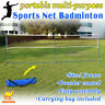 4size 10/20' Portable Badminton Beach Volleyball Tennis Training Net w Carry Bag