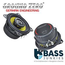 """Ground Zero GZTF 10 - 4"""" Inch 10cm 100 Watts 3-Ohm 2-Way Coaxial Car Speakers"""