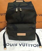 Louis Vuitton x Supreme Apollo Backpack Camouflage Camo 100% Authentic FW17 NWT