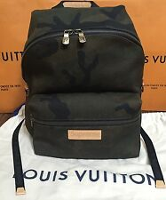 Louis Vuitton x Supreme Apollo Backpack Camouflage Camo 100% Authentic FW17  NWT dc70851d100e5