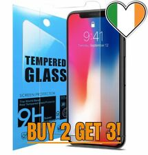 Apple iPhone XR Tempered Glass 9H / 2.5D Rounded Edges IRISH SELLER BUY 2 GET 3!