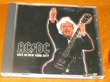 AC/DC - Safe In New York City - RARE 3 Track 2001 ENHANCED PROMO CD w/ Video!