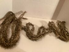 Vintage collectible early Victorian German Christmas tinsel garland