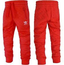 Adidas Kinder Trefoil Jogginghose Sweat Hose Trainingshose Young Sweat Pants rot