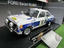 FORD ESCORT MKII RS1800 Rallye # 14 SAFARI Rally 1977 1/18 SUN STAR 4491 voiture