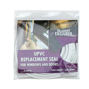 STORMGUARD Replacement Door Window Bubble Gasket Seal White uPVC Frames 6m