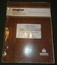 international dt 466 engine parts | eBay