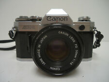 Canon AE-1 35mm Film Manual Camera w/ 50mm F1.8 Lens