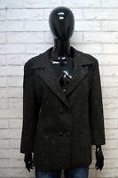 Giacca MARELLA Donna Jacket Woman Taglia 48 Blazer Lana Jacke Grigio Giubbino