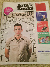 SUFJAN STEVENS PHOTO COVER INDEPENDENT ARTS & BOOKS SUPPLEMENT - MARCH 2015